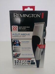 NEW Remington A Cut Above Haircut Trimmer Kit HC80 22-Piece Hair Clipper Set