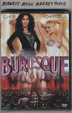 Burlesque DVD - Brand New MINT & Sealed - Cher Christina Aguilera Kristen Bell