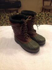 Rocky Mens Ice Stalker Waterproof Winter Fishing Traction Boots Thinsulate Sz 11