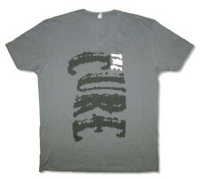The Cure-Riot Fest 2014-X-Large Charcoal Gray V-Neck T-shirt