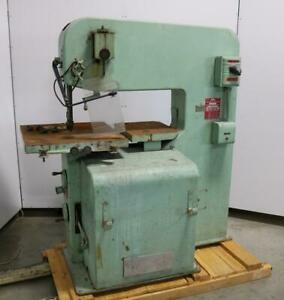 """DoAll 3613-2 Band Saw - 36"""" Throat with Blade Welder"""