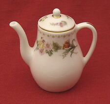 Wedgwood Mirabelle miniature coffee pot