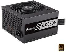 CORSAIR CX-M Series CX650M 650W 80 PLUS BRONZE Semi-Modular Power Supply
