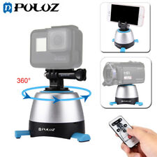 PULUZ Electronic 360° Rotation Panoramic Tripod Head + Remote Controller Blue