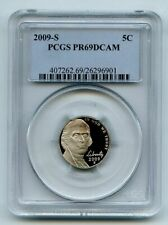 2009 S 5C Jefferson Nickel PCGS PR69DCAM