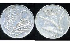ITALIE  ITALY 10 lire 1966