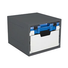 Van Shelving - 3 drawer cabinet - 1 Ezi-Pak case drawer, 1 deep drawer