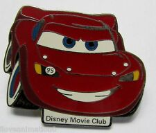 Disney Movie Club Exclusive #18 Cars Lightning McQueen Pin