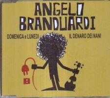 ANGELO BRANDUARDI - DOMENICA E LUNEDI  MAXI-CD 2010 MINT!