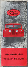 Land Rover Duo colour fold out brochure