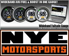 AEM DIGITAL WIDEBAND FAILSAFE UEGO AIR FUEL BOOST GAUGE ALL-IN-ONE DATA LOGGER