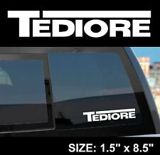 "Borderlands 2 / Pre-Sequel ""Tediore"" Gun Manufacturer Sticker Decal"