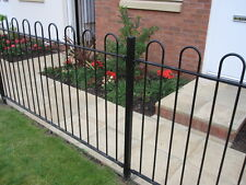 More details for bow top railing hoop top fencing panels posts prefabricated or components only