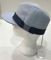 Paul Smith Peaked Trilby BABY BLUE Size M 100% Cotton Made in Italy