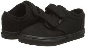 Toddler Vans Atwood V Canvas Skate Shoe VN-0RQX186 100% Original Black/Black New