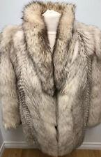 NORWEGIAN FOX FUR COAT Jacket FOR MEN LENGTH 27 Inch Sz.XS