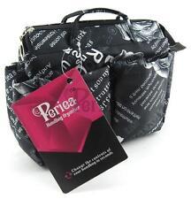 Periea Handbag Organiser Insert - Marina Black - 13 Compartments