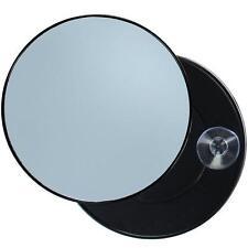 Miroir Noir grossissant x10 à ventouse Maquillage Epilation Cosmétique 8.5 cm