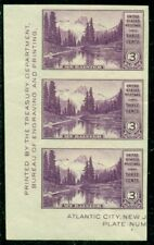 Scott # 750a Vertical Strip Of 3, Mint, Og, Nh, Great Price!