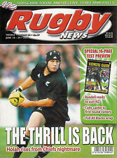 Nz Rugby News 34-17, 18 Jun 2003 Marty Holah, England beat All Blacks in Welling