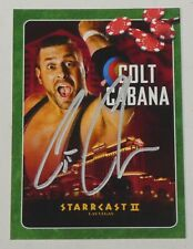 Colt Cabana Signed 2019 Starrcast II Las Vegas Card ROH WWE Wrestling Autograph