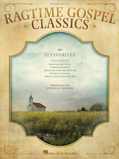 """RAGTIME GOSPEL CLASSICS"" PIANO SOLO MUSIC BOOK-BRAND NEW ON SALE SONGBOOK!!"