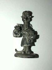 Vtg Gallo Pewter Dragon Figurine ~ Dressed as Nurse w/ Water Bottle & Teddy Bear
