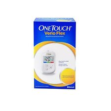 OneTouch Verio Flex Blood Glucose Monitor ( Box of 10 Test Strips Free) FS