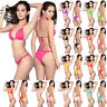2pcs Women Push-up Bikini Set Swimwear Bra Bandage Swimsuit Bathing Suit
