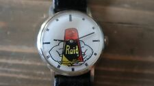Super Rare RAID BUG WRIST WATCH 17 Jewels Mechanical Movement WORKING