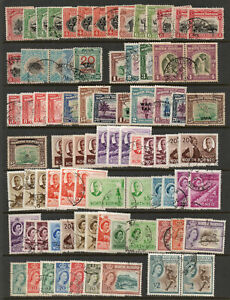 NORTH BORNEO SABAH selection of good used 1925 to 1961