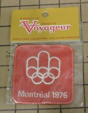 NEW UNOPENED 1976 Olympics Montreal Canada Patch #13
