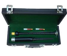 HM Scottish Great Highland Bagpipes Practice Chanter Rosewood Black Silver Mount