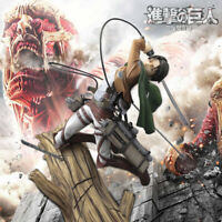 Levi Ackerman Action Figure 1/8 Scale Attack on Titan Collection Toy Gift In Box