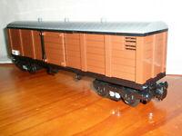 Lego Train - Custom Goods Carriage - Reddish Brown - New 10194 10219 10277 Cargo