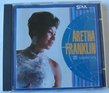 ARETHA FRANKLIN (CD)  20 GREATEST HITS
