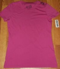 Fox Racing Miss Clean Pink Top Size Large Brand New