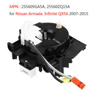 Clock Spring Spiral Cable .255609GA5A For Nissan Armada Infiniti QX56 5.6L 07-15