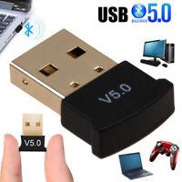 USB Bluetooth 5.0 Kabellos Dongle Stick Adapter Empfänger für PC/Laptop/Desktop