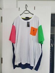 Polo Ralph Lauren Men's Classic-Fit Logo T Shirt, Navy/White, Sz  4XL NWT
