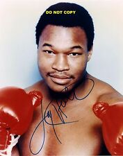 LARRY HOLMES 8X10 AUTHENTIC IN PERSON SIGNED AUTOGRAPH REPRINT PHOTO RP