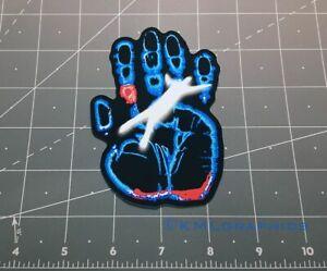 X Files hand falling man tv show decal sticker UFO alien Area 51 Fox Mulder 90s