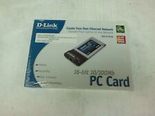 DFE-670TXD D-LINK PCMCIA ETHERNET 10/100 NEW IN FACTORY BOX