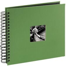 Fine Art Spiralbound Photo Album, 28cm x 24cm 50 Pages, Apple Green