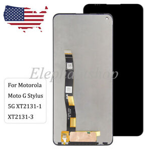 New LCD Touch Screen Digitizer Replacement For Motorola Moto G Stylus 5G XT2131