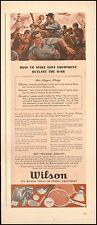 1942-Vintage ad for Wilson Sports Equipment`WWII era Art (081015)