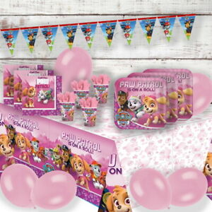 Paw Patrol Skye Party Supplies Tableware, Balloons, Decorations, Bags, Stickers