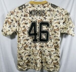 NIKE On Field NFL Washington Redskins Alfred Morris Desert Camo Jersey 48/Large
