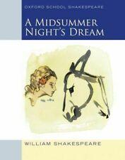 OXFORD SCHOOL SHAKESPEARE: MIDSUMMER NIGHT'S DREAM AG SHAKESPEARE WILLIAM