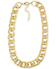 NWT Charter Club Gold Tone Open Link Collar Necklace